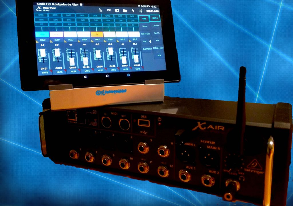 Picking a tablet to control the Behringer/Midas X AIR wireless mixer/recorder 1