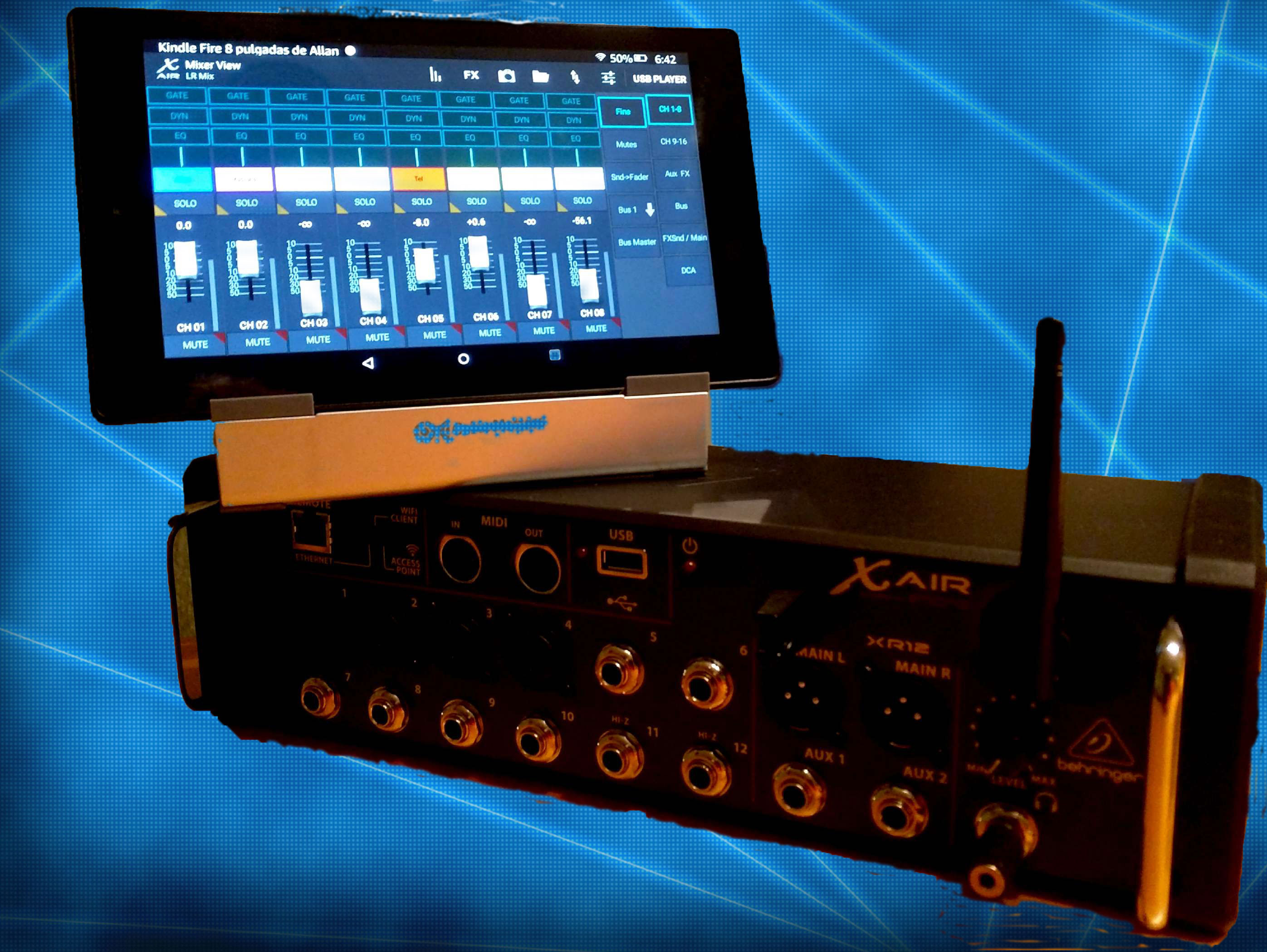 Picking a tablet to control the Behringer/Midas X AIR