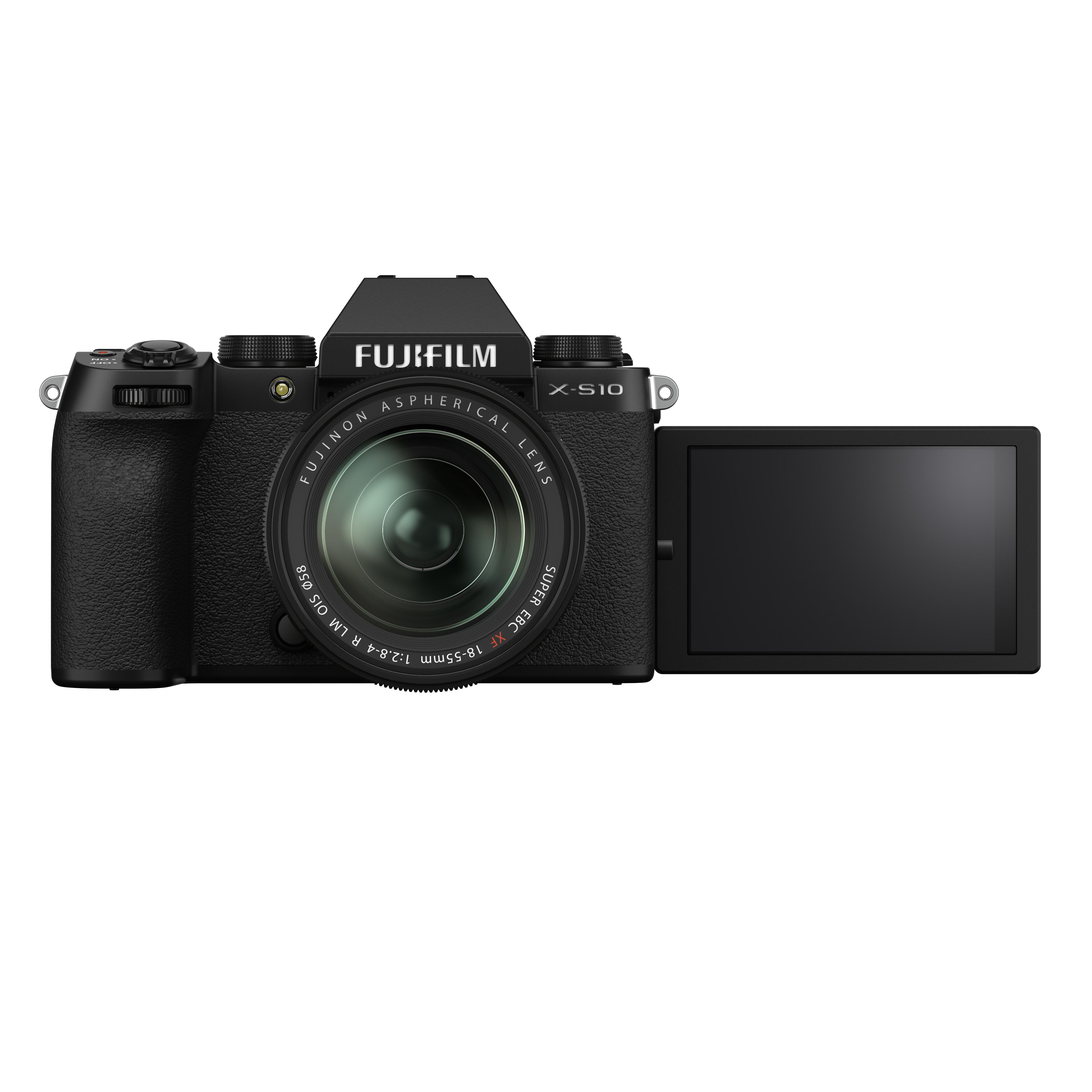 Fujifilm Introduces X-S10 Mirrorless Digital Camera 3