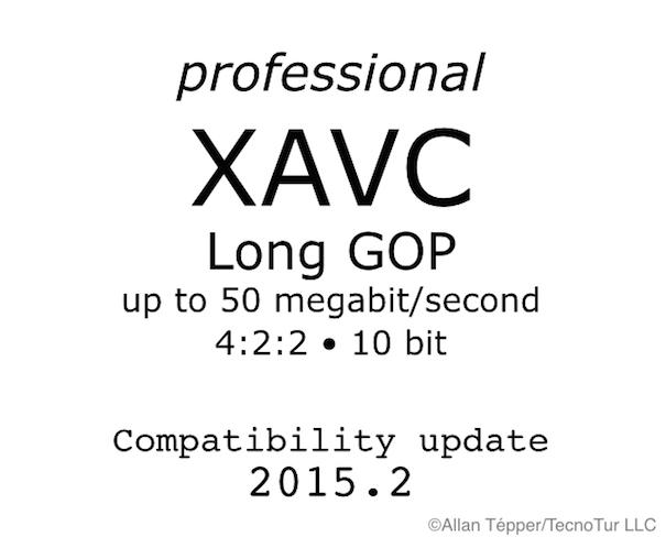 XAVC L update 2 605
