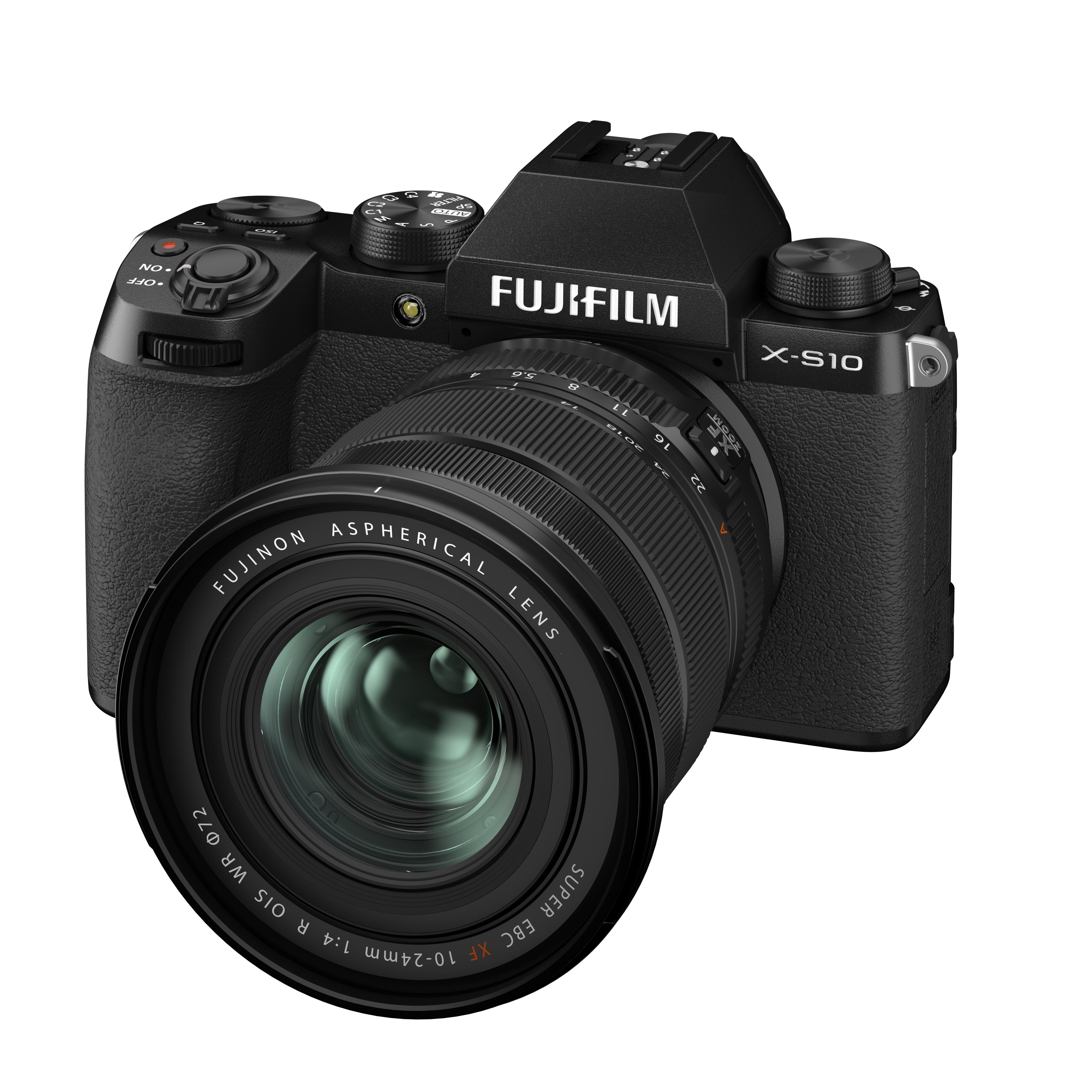 Fujifilm Introduces X-S10 Mirrorless Digital Camera 2