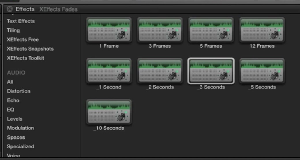 Xeffects audio