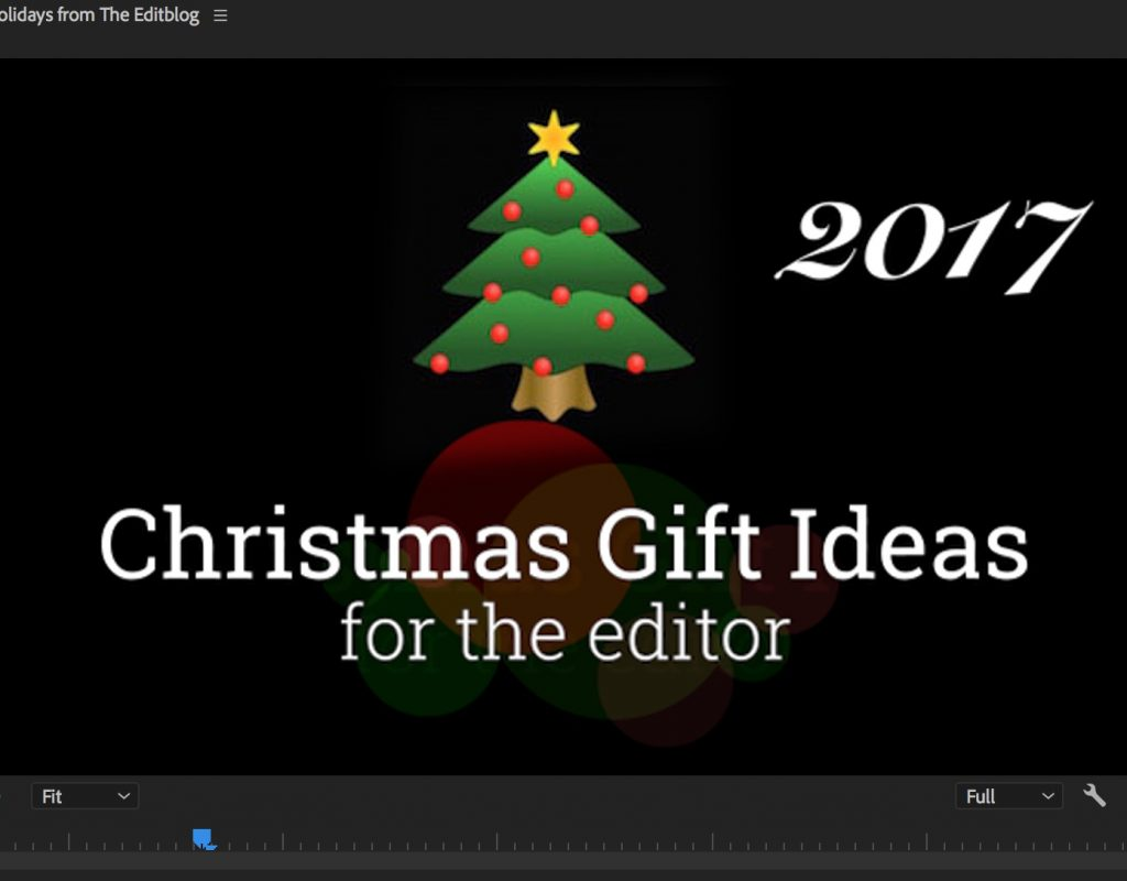 Christmas Gift Ideas for the Editor - 2017 edition 1