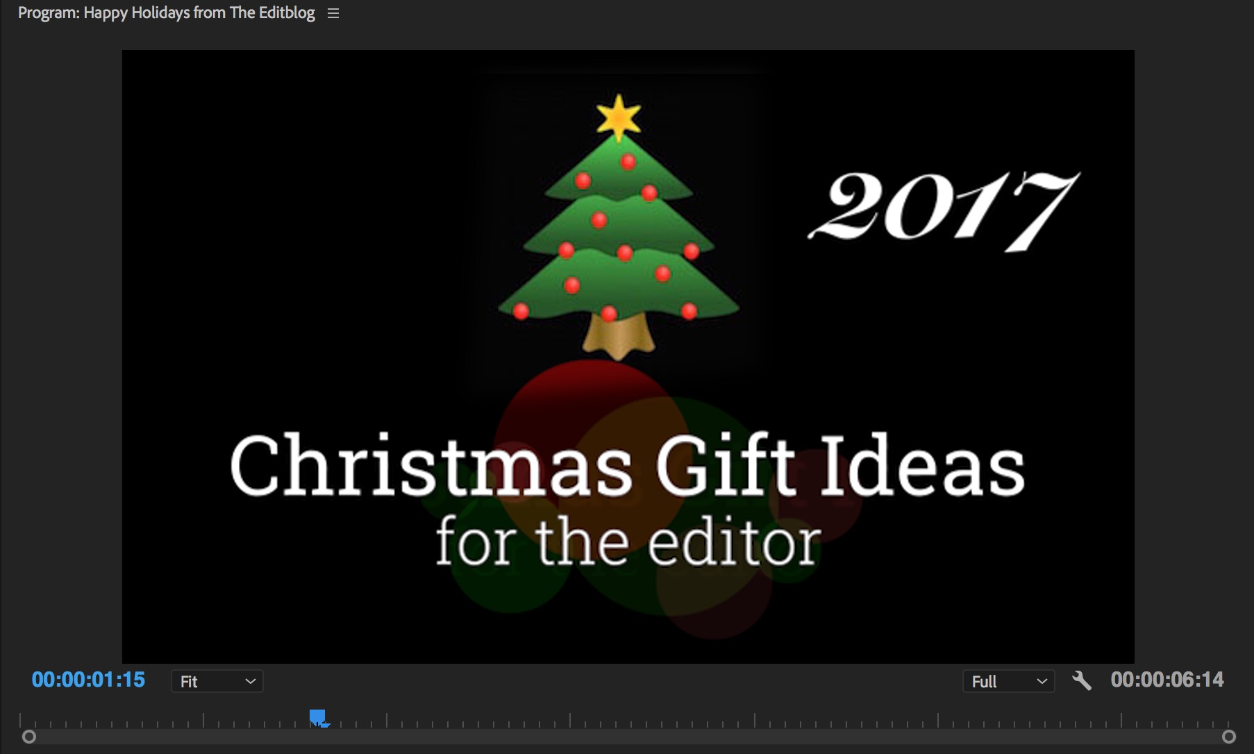 Christmas Gift Ideas for the Editor - 2017 edition 2
