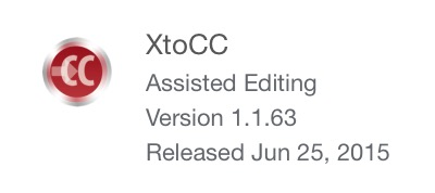 XtoCC version