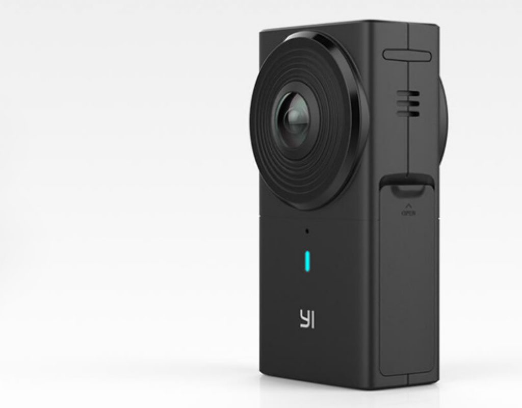 New YI 360 VR camera shoots 5.7K 360 video