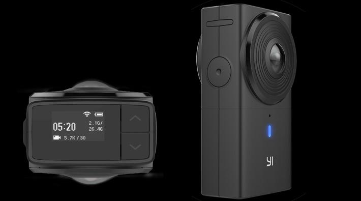 New YI 360 VR camera shoots 5.7K 360 video