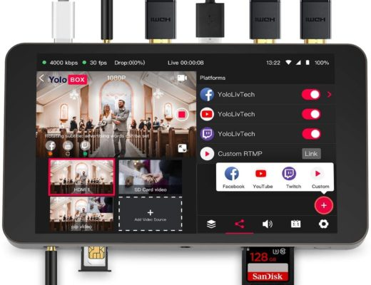 Review: YoloBox touchscreen video switcher-recorder-streaming encoder 8