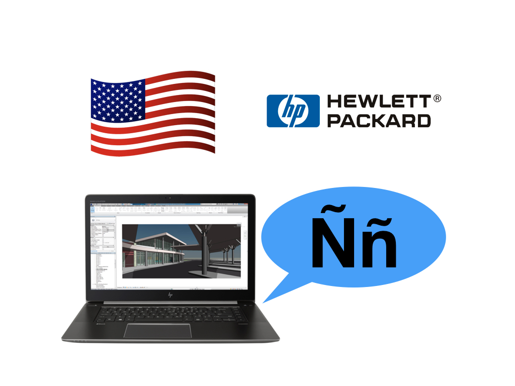HP (US) offers ZBook Studio G4 with Spanish keyboard 8
