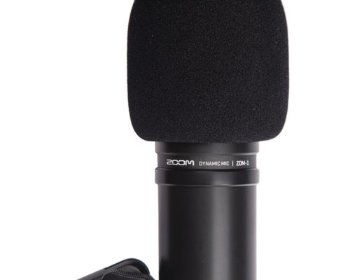 Review: Zoom ZDM-1 dynamic studio microphone or kit 50