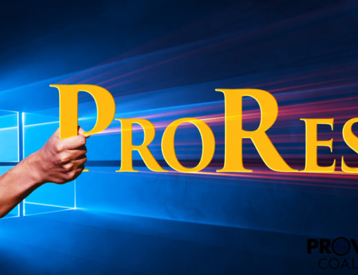Windows ProRes: First Impression 10