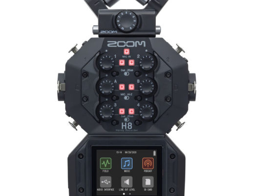 Review: Zoom H8 multitrack audio recorder 8