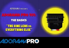 Adorama Pro 101: The Basics – The Cine Lens vs Everything Else