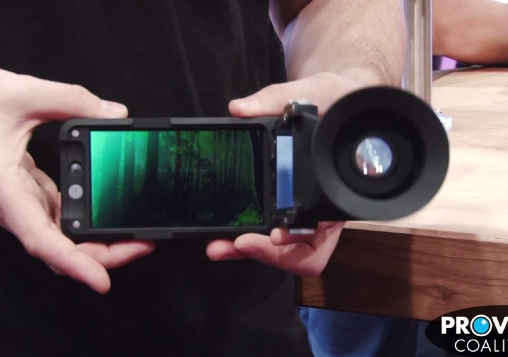 PVC at NAB 2015: SmallHD Shows off the Sidefinder 1