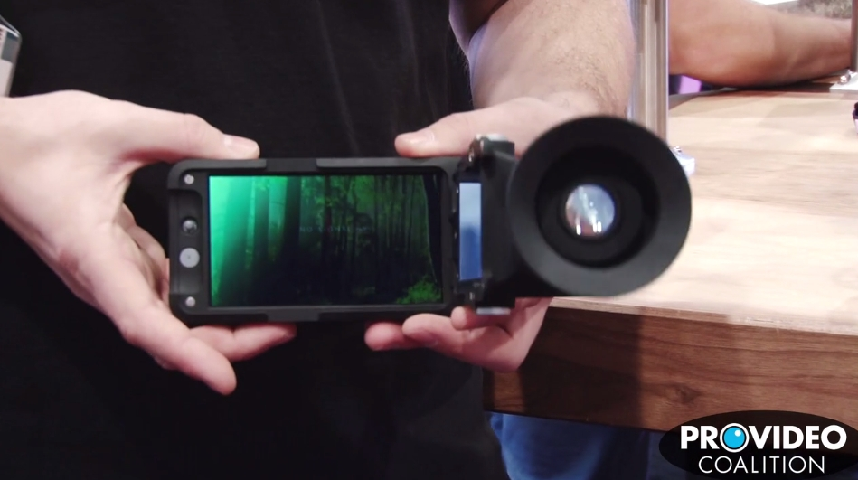 PVC at NAB 2015: SmallHD Shows off the Sidefinder 7