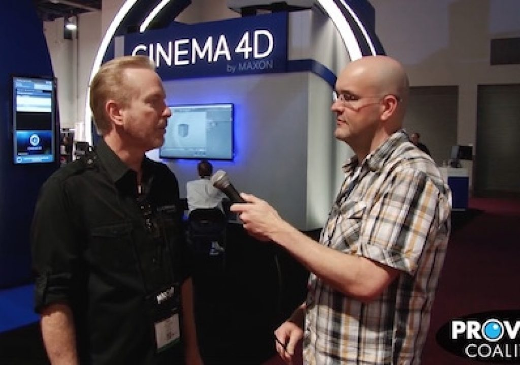 PVC at NAB 2015: Talking Cinema 4D with Paul Babb 1