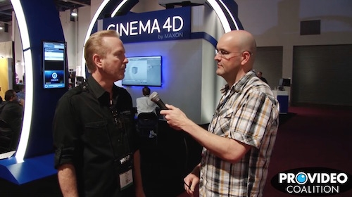 PVC at NAB 2015: Talking Cinema 4D with Paul Babb 2