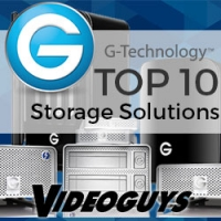 Videoguys Top 10 G-Technology Storage Solutions 2