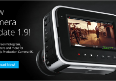 "Blackmagic Production Camera Gets A New ""Heads Up Display"""