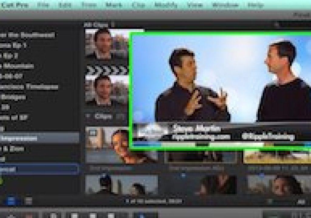 Moving Media in Final Cut Pro 10.1 1