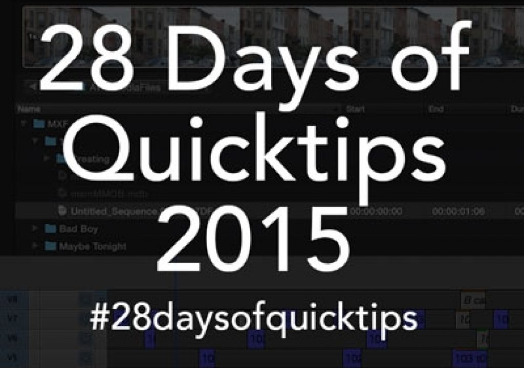Day 3 #28daysofquicktips - Remap numbers 1 to 9 on your Final Cut Pro X keyboard 7