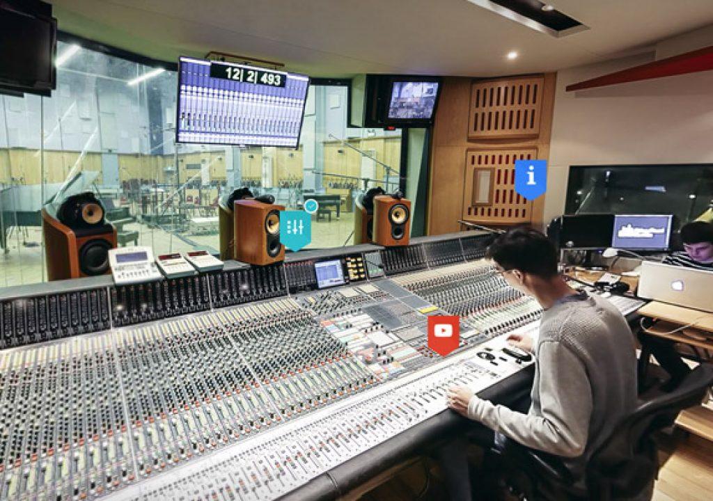 Google Takes You Inside Abbey Road Studios 1