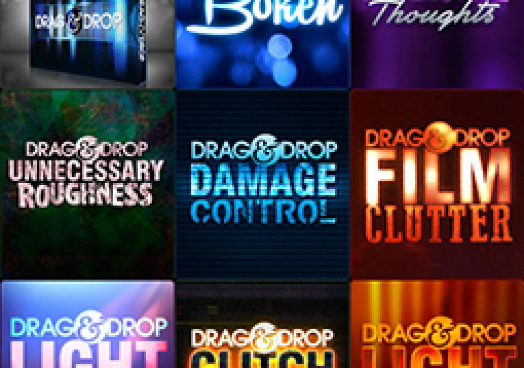 Digital Juice Introduces Drag & Drop Clip-Based Special Effects in