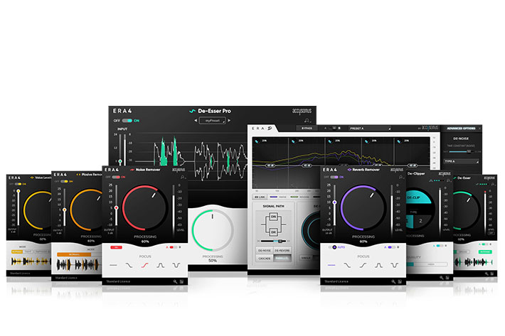 Accusonus ERA 4 bundles: single-knob audio cleaning and noise reduction 7