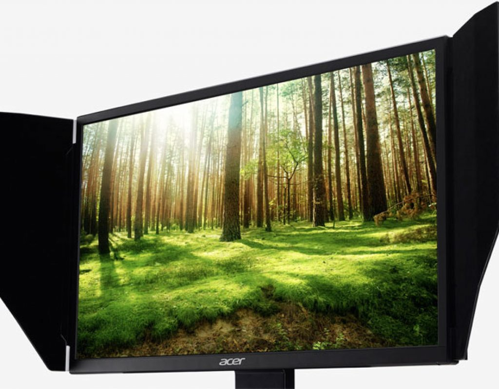 Acer ProDesigner BM270 a monitor for professional video editing