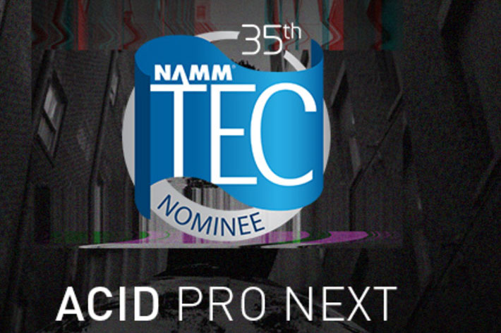 MAGIX Software: ACID Pro Next nominated for NAMM 2020 TEC Award 3