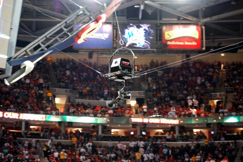 Actioncam Aerial System Uses Fujinon Lenses for NBA Finals 1