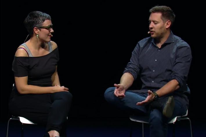 Director Neill Blomkamp films ADAM series, short films created with Unity