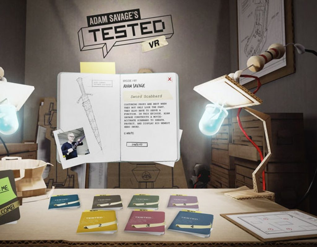 Adam Savage's Tested VR: the production of a virtual journey for Oculus headsets 1