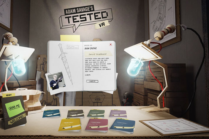 Adam Savage's Tested VR: the production of a virtual journey for Oculus headsets 2