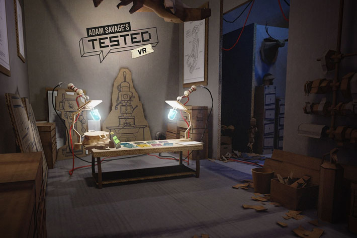 Adam Savage's Tested VR: the production of a virtual journey for Oculus headsets 4