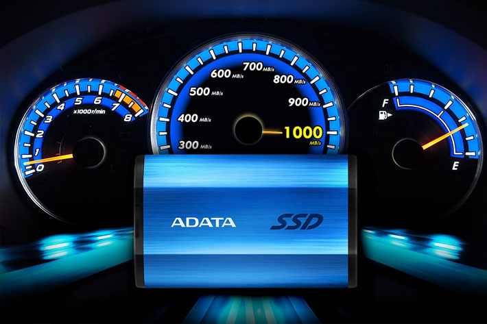 ADATA SE800: external SSD reaches read/write speeds of up to 1000 MB/s