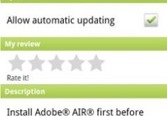 Adobe Air Runtime for Android