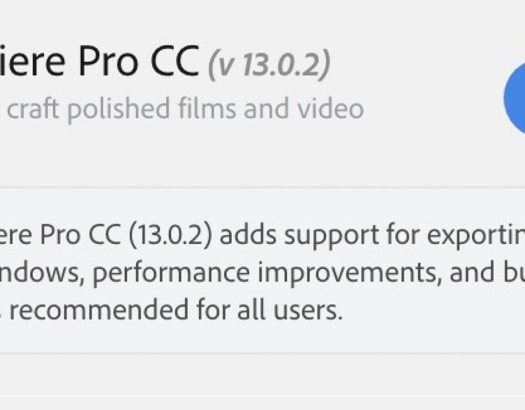 Adobe adds ProRes export support on Windows in the latest release 9