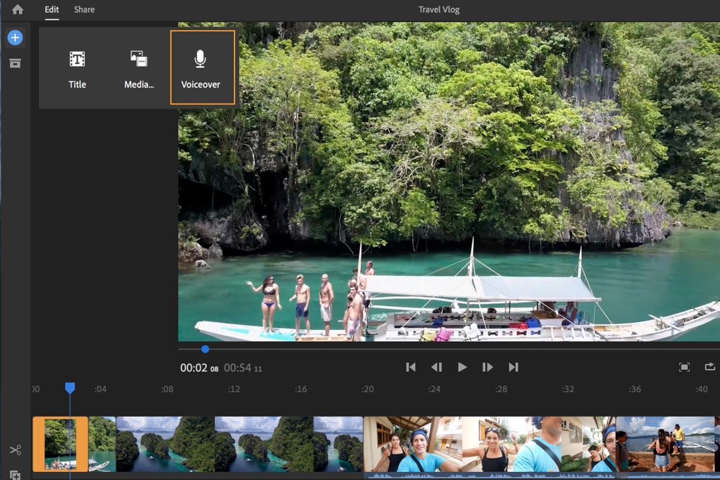 Adobe Premiere Rush gets one-click Auto Reframe
