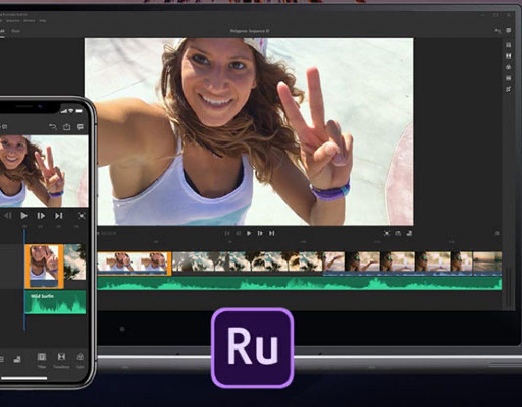 Adobe Premiere Rush CC: video editing made easy