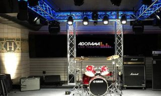 Train open Adorama Live Theatre in New York