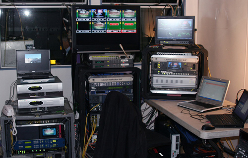 CBS Sports Uses FOR-A FRC-7000 FRAME RATE CONVERTERS FOR NFL FOOTBALL BROADCAST FROM LONDON 1