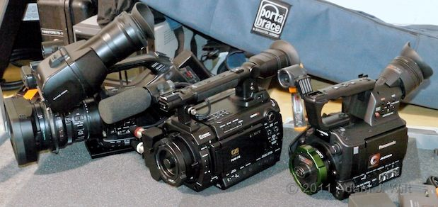 AG-AF100 and PMW-F3 on the Charts 27