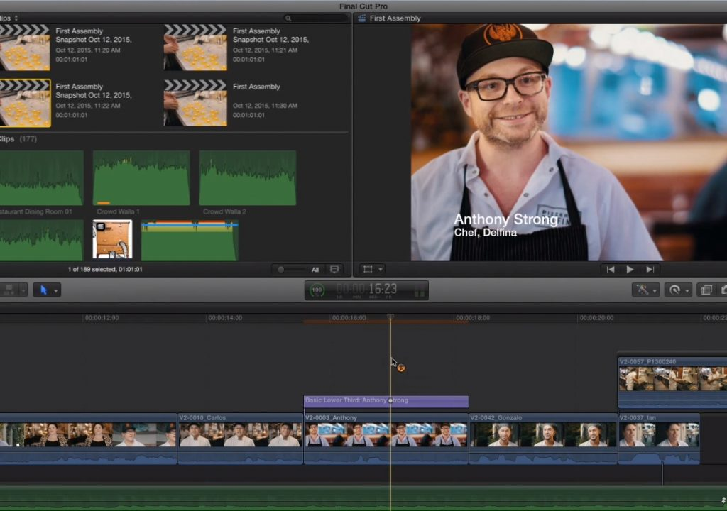 Connected Clip Tricks in Final Cut Pro X 1