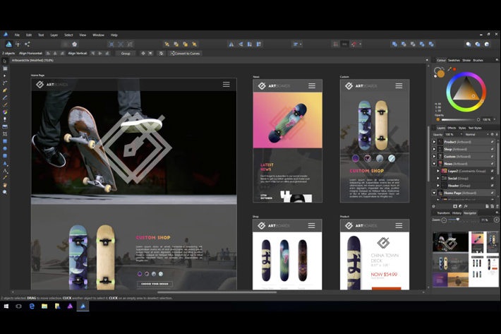Affinity Photo and Desginer free trials for Windows users