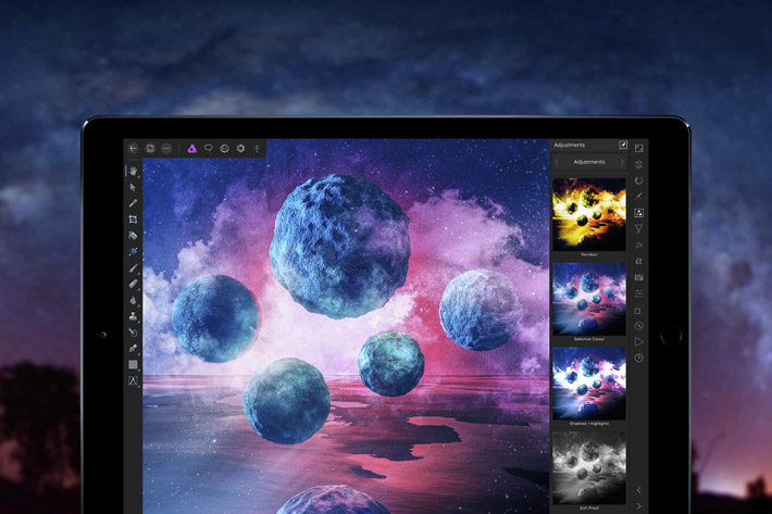 Affinity Photo optimized for Apple's iOS 11
