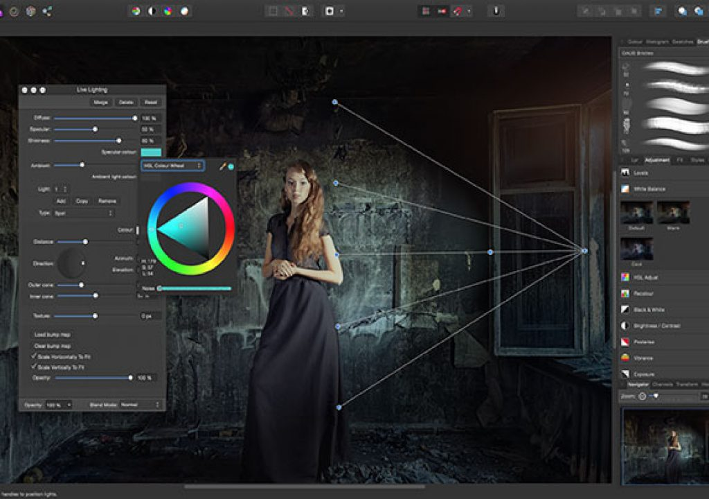 Affinity Photo has a free trial version 1