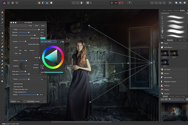 Affinity Photo has a free trial version 3