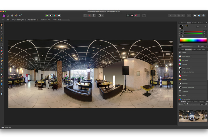 Affinity Photo: HDR, focus stacking and much more