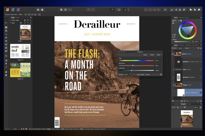 Affinity Publisher is Apple's Mac App of the Year